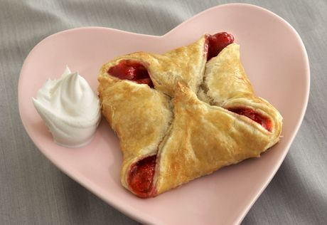 Strawberry 4-Point Tarts