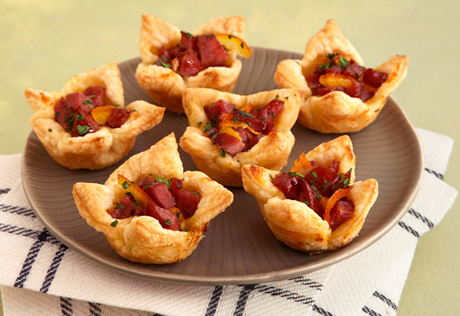 Smokey Sausage Tartlets