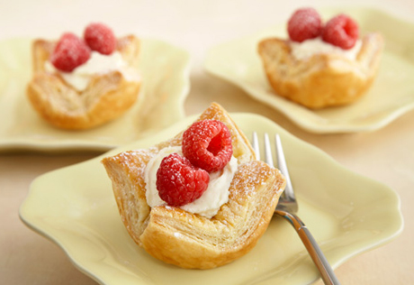Mini Puff Tartlets
