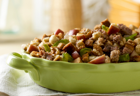 Sausage & Walnut Dressing
