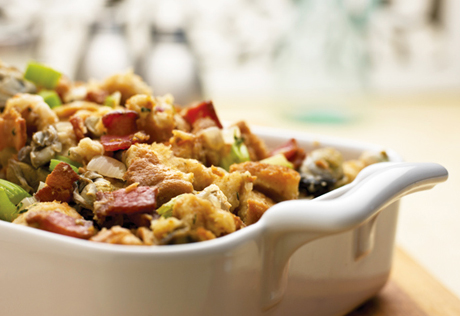 Herbed Oyster Stuffing