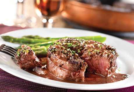 Beef stock, dry red wine, shallots and mustard combine to make a ...