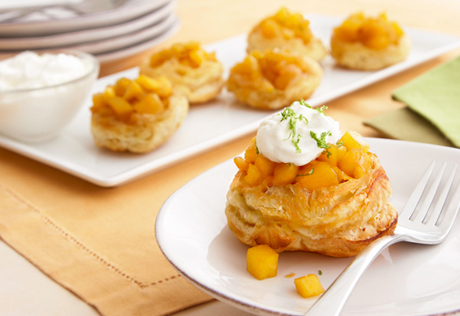 Florida Mango Mini Tarts