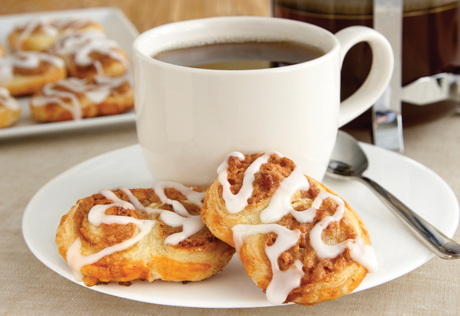 Puff Pastry Cinnamon Walnut Swirls