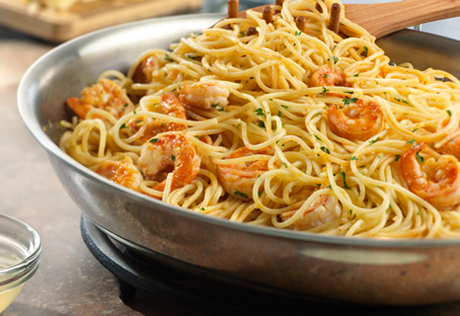 Campbells Kitchen on Campbell S Kitchen Shrimp Scampi