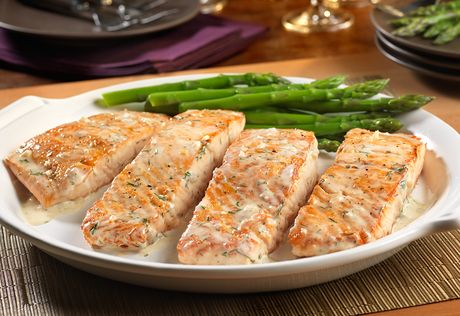 Salmon Recipes Cream Dill Sauce