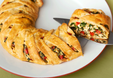 Chicken Spinach Fontina Braid