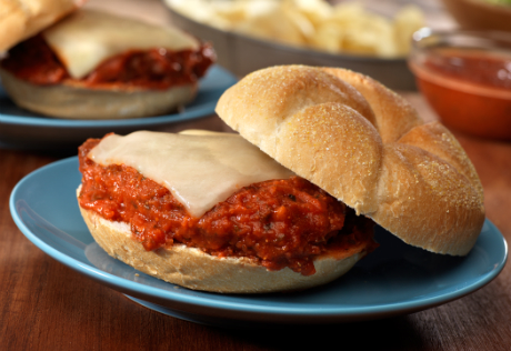Easy Chicken Parm Sandwiches