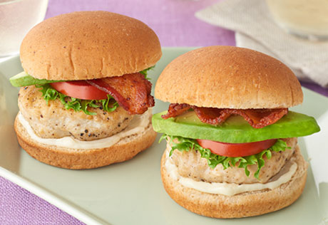 Chicken Avocado BLT Sliders