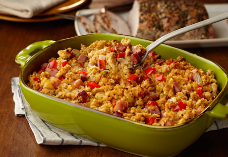 Hawaiian Cornbread Stuffing