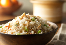 Spicy Almond Coconut Rice