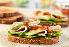 Turkey & Avocado Sandwiches