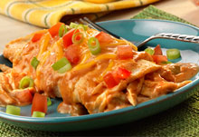 Lightened-Up Chicken Enchiladas