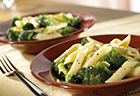 Broccoli & Garlic Penne Pasta