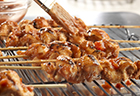 Garlic & Lime Grilled Chicken Skewers