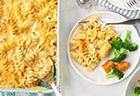 3-Cheese Pasta Bake
