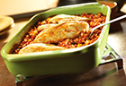 Picante Chicken & Rice Bake