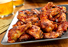 Picante-Glazed Chicken Wings