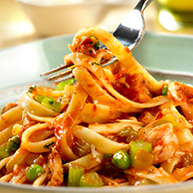 Spicy Tuna Tomato Sauce With Fettuccine Pace Foods