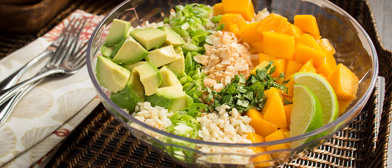Coconut Cilantro Lime Rice Salad