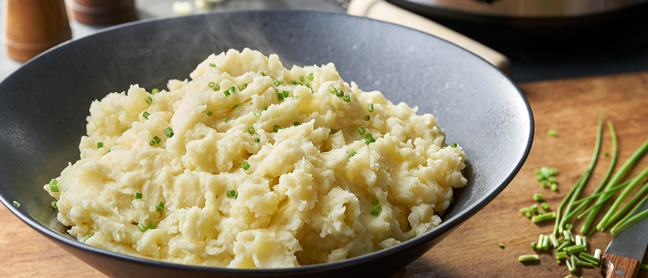 Slow Cooker Yukon Gold Creamy Mashed Potatoes