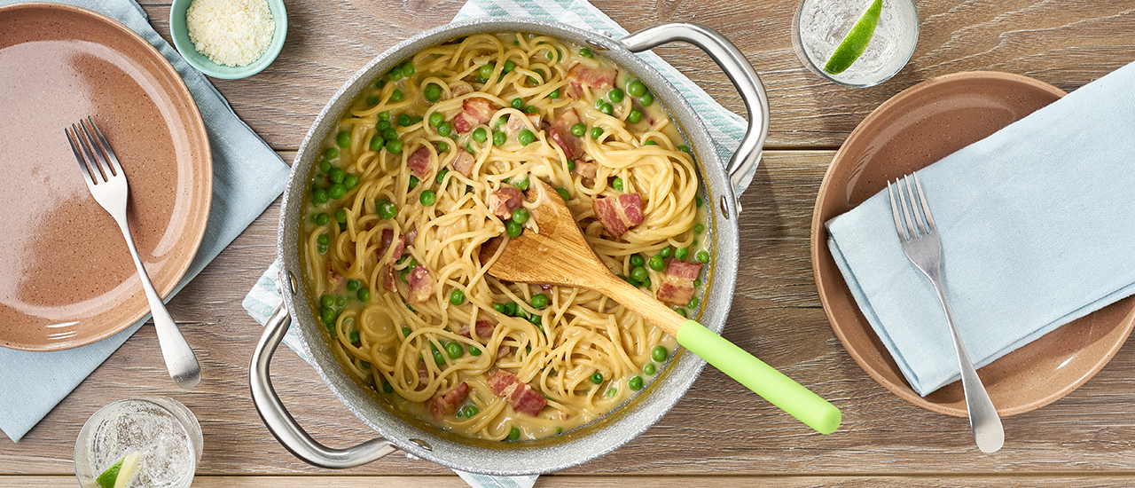 One Pot Spaghetti Carbonara