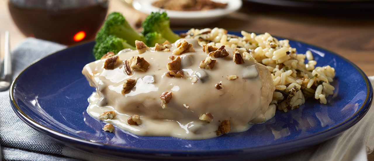 Maple Pecan Chicken