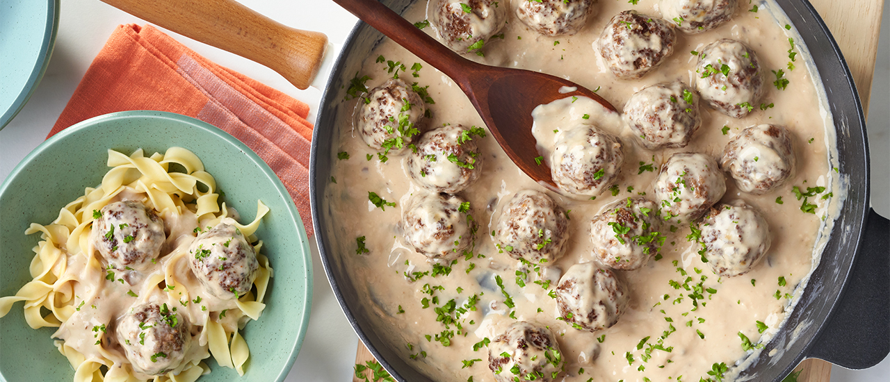 Swedish Meatballs Recipe Campbell S Kitchen