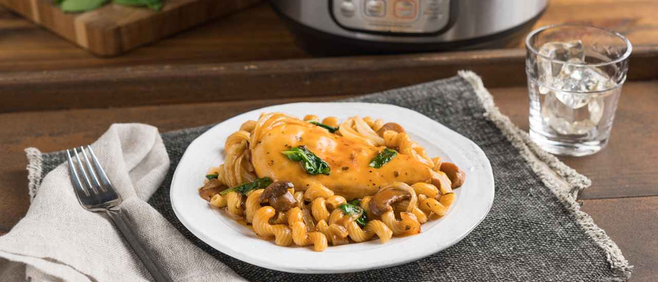 Instant Pot® Chicken Marsala Pasta
