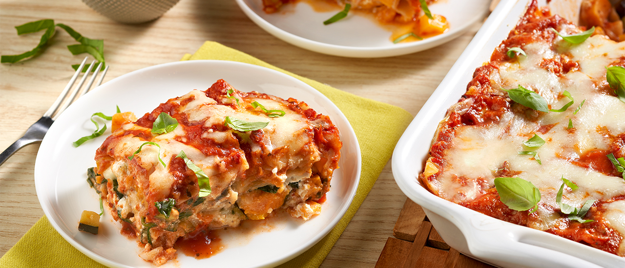 Low FODMAP Vegetable Lasagna