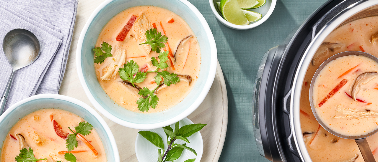 Instant Pot​® Thai Chicken Soup