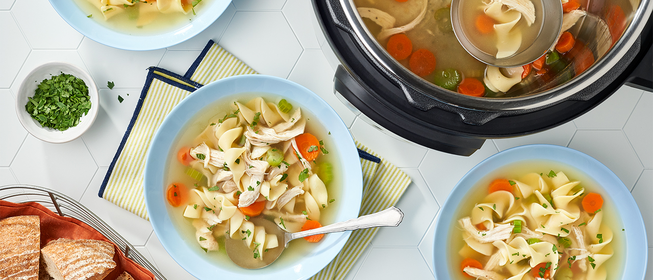 Instant Pot® Chicken Noodle Soup
