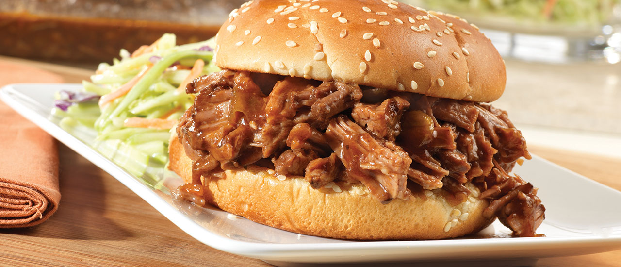 Sweet & Spicy Barbecued Brisket