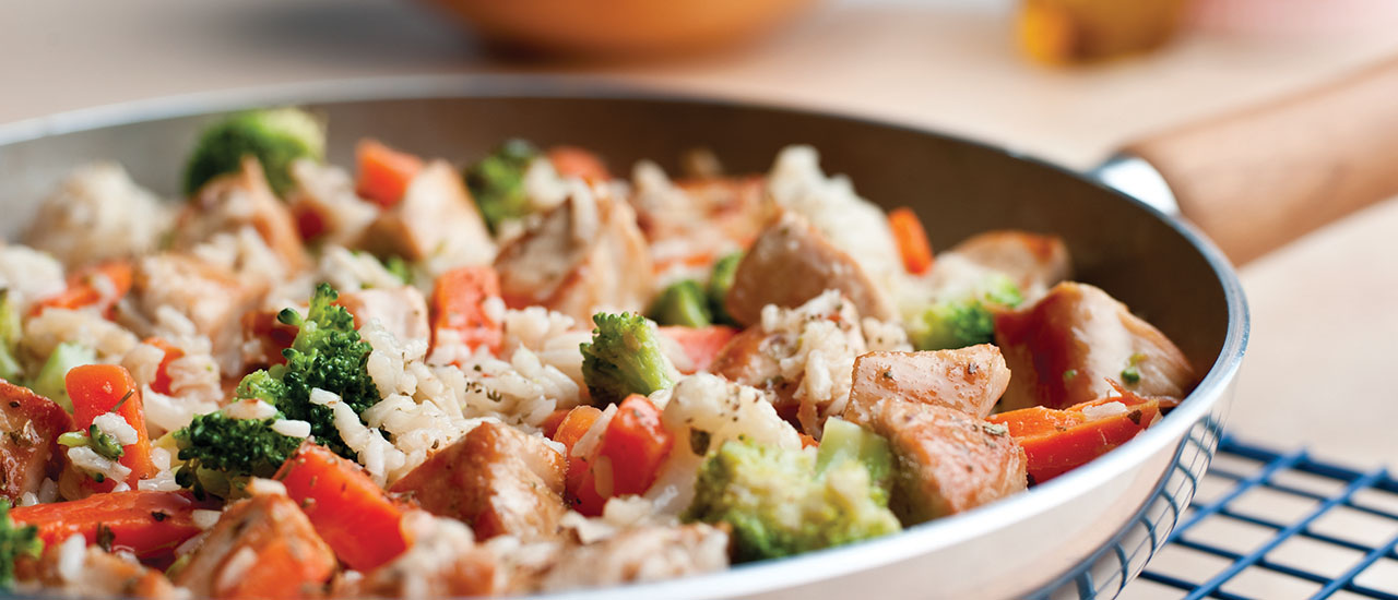Skillet Chicken & Rice