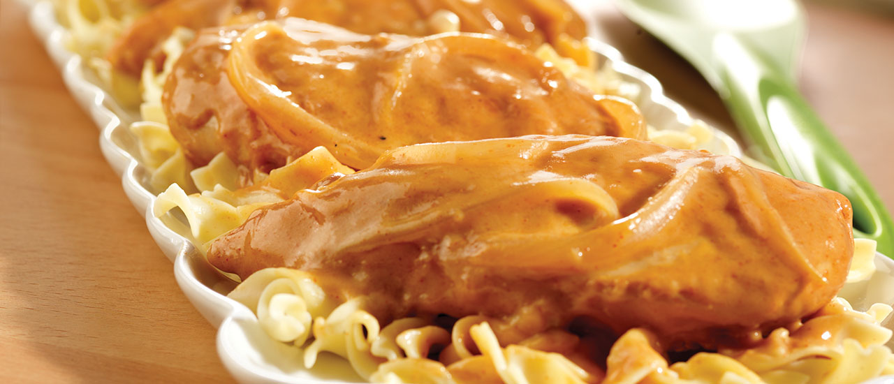 Easy Chicken Paprikash
