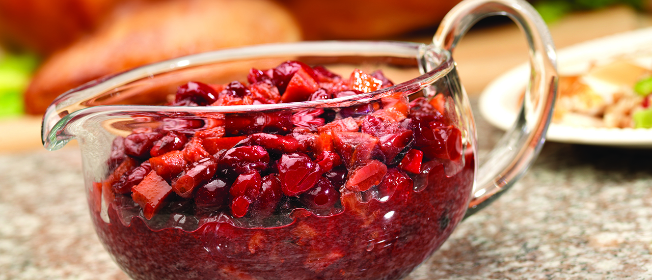 Roasted Orange Cranberry Sauce