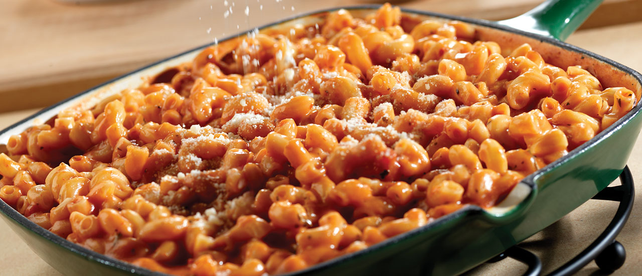 Tomato Mac and Cheese