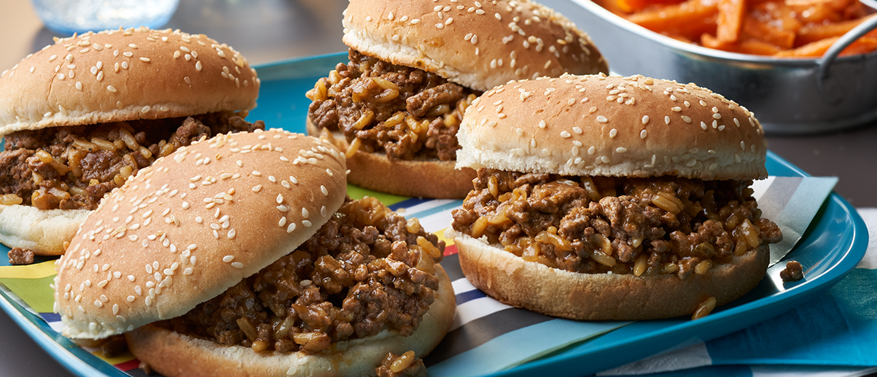 Chicken Gumbo Sloppy Joes