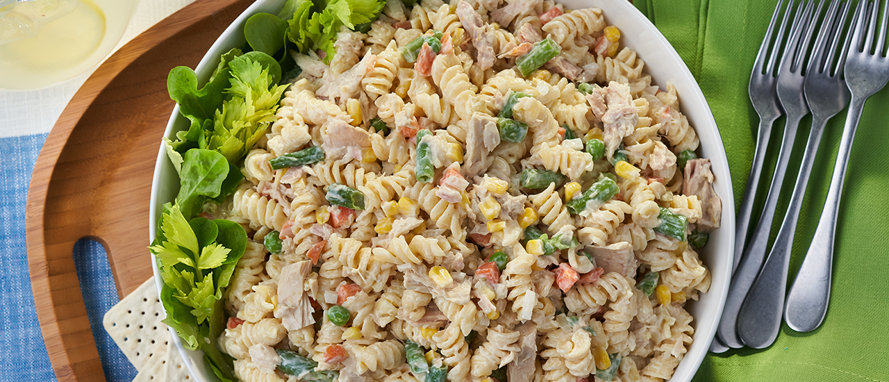 Cool Tuna Pasta Salad