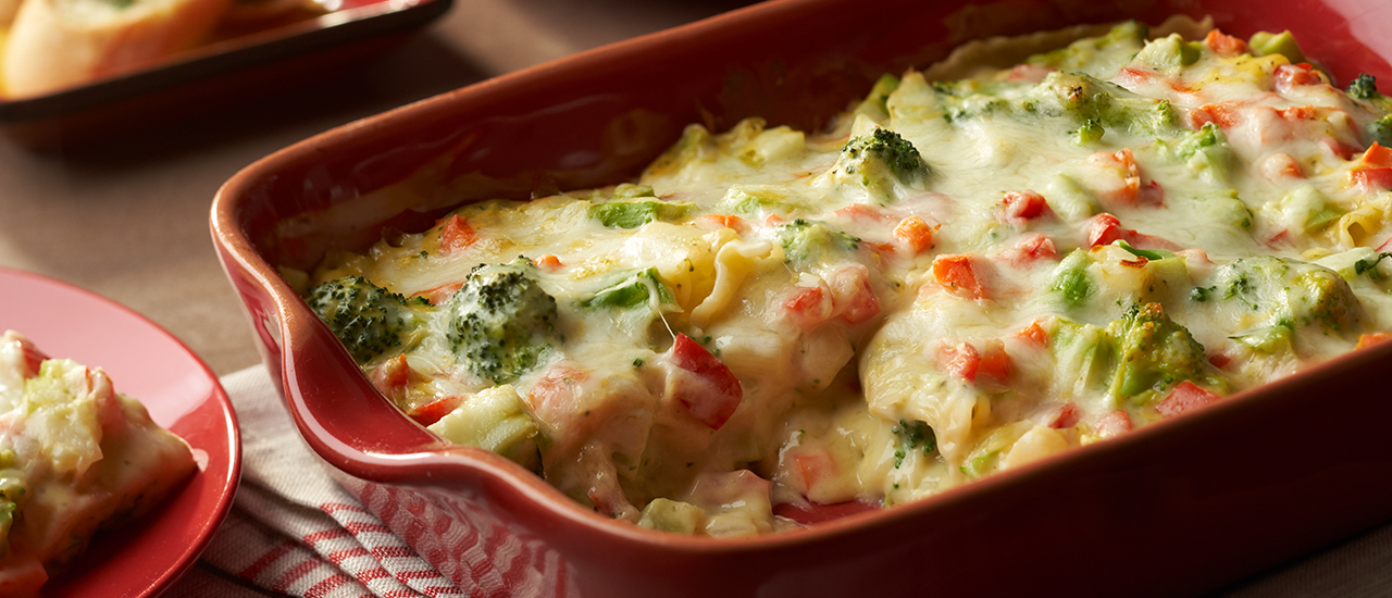 Broccoli Cheese Lasagna