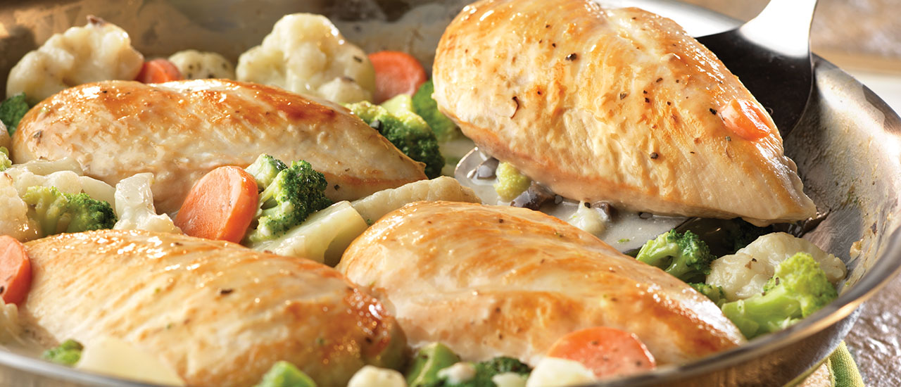 Lemon Herb Chicken Primavera