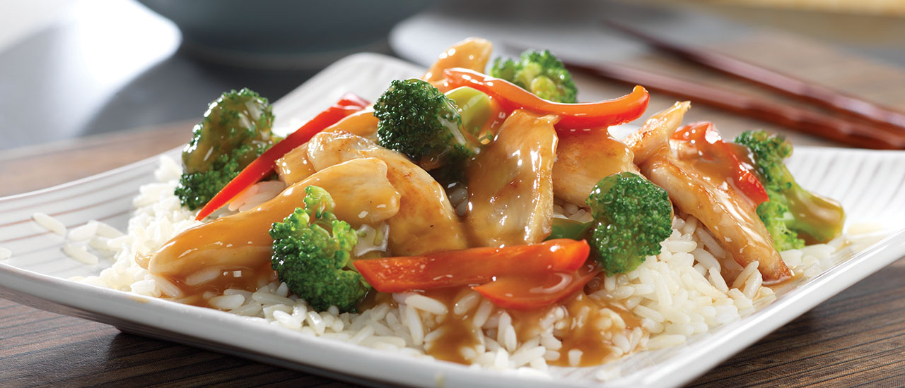 Asian Chicken Stir Fry