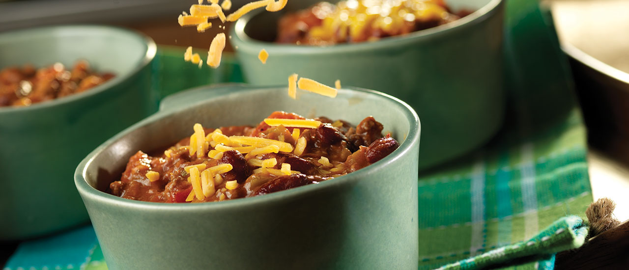 Thick & Hearty Two-Bean Chili