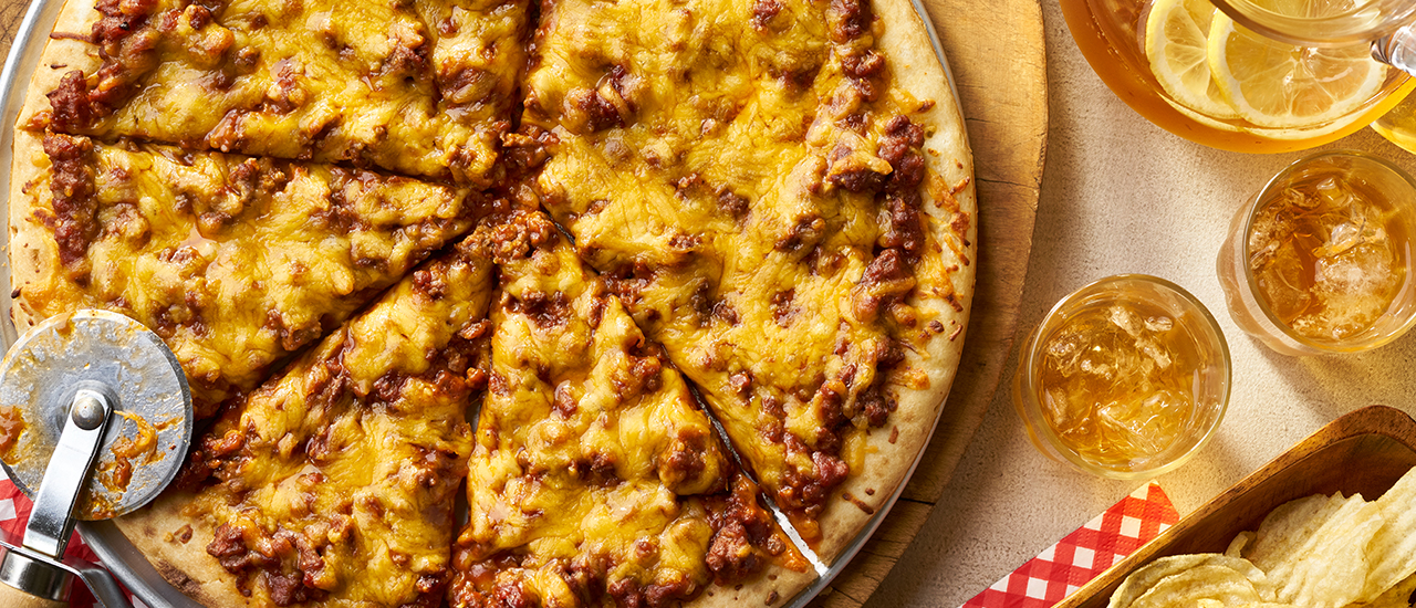 So Easy Sloppy Joe Pizza