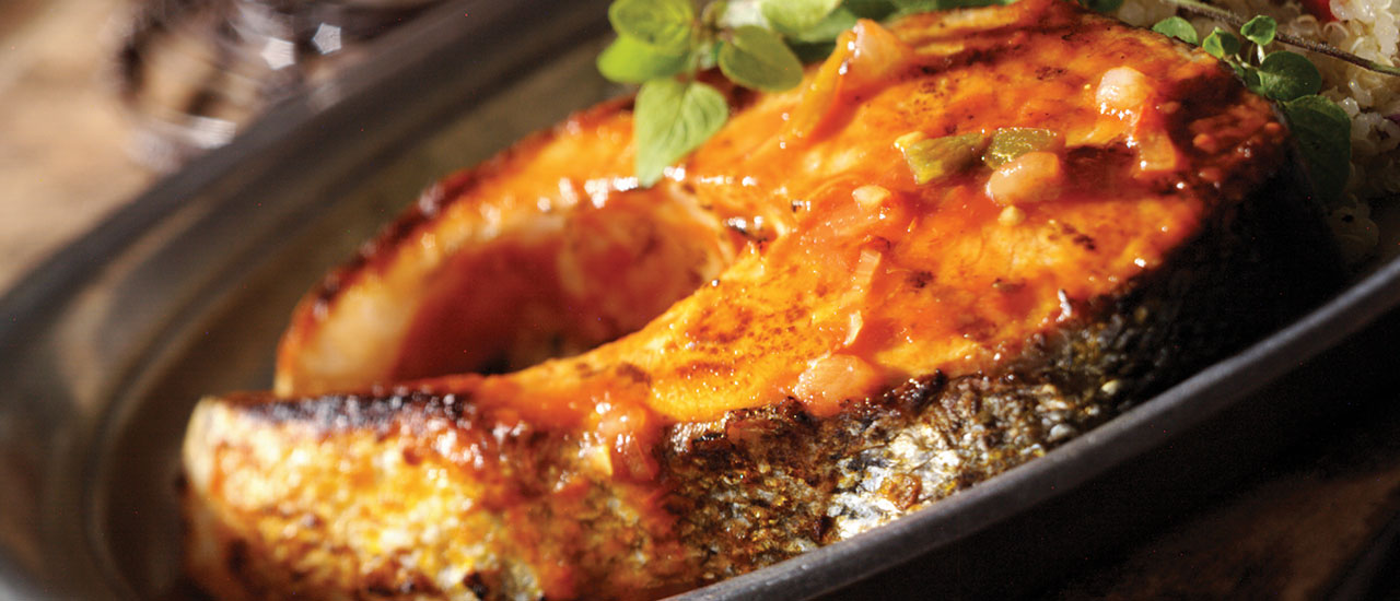 Picante Grilled Fish
