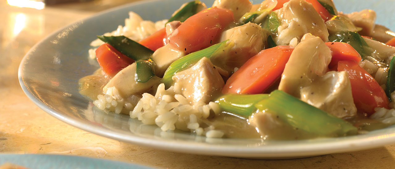 Quick Turkey Stir-Fry