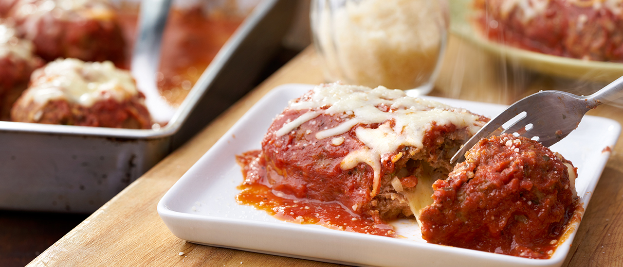 Make-Ahead Pizza Meatloaves