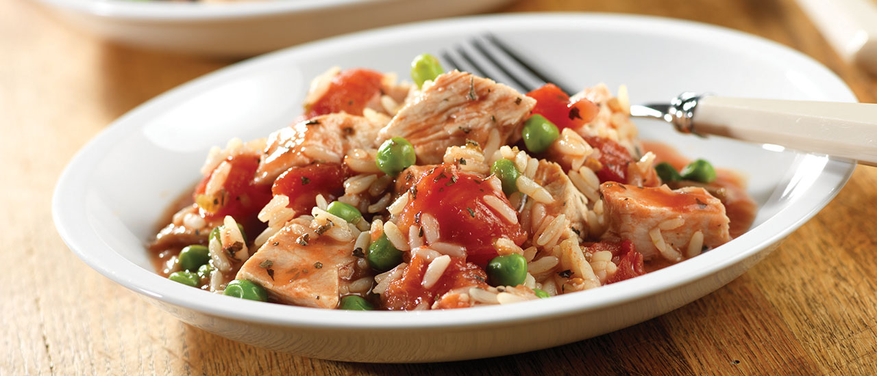 Zesty Turkey & Rice