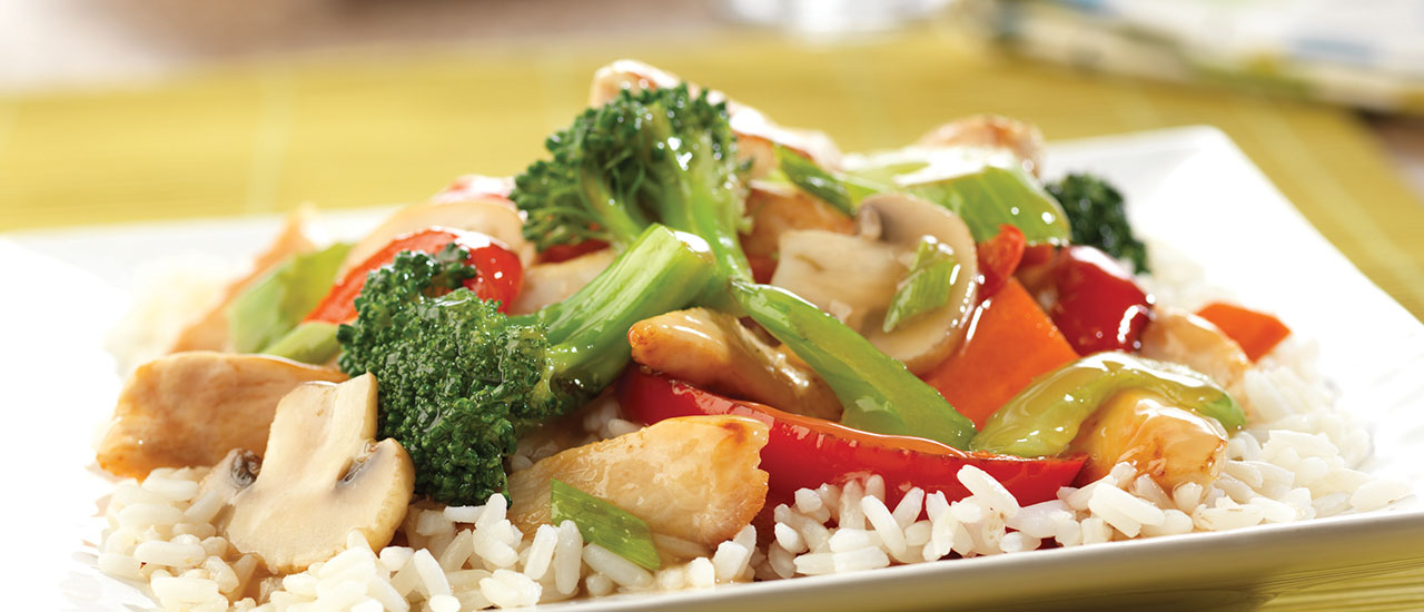 Chicken & Vegetable Stir-Fry