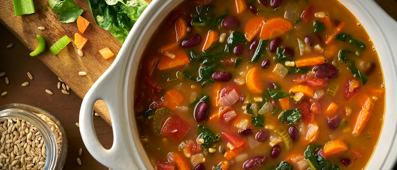 Hearty Bean & Barley Soup